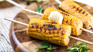 Grilled Corn With Truffle Butter