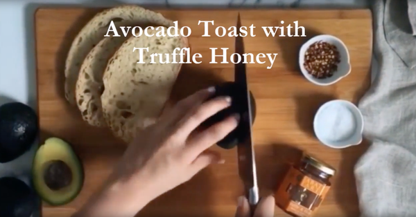 Avocado Toast with Truffle Honey