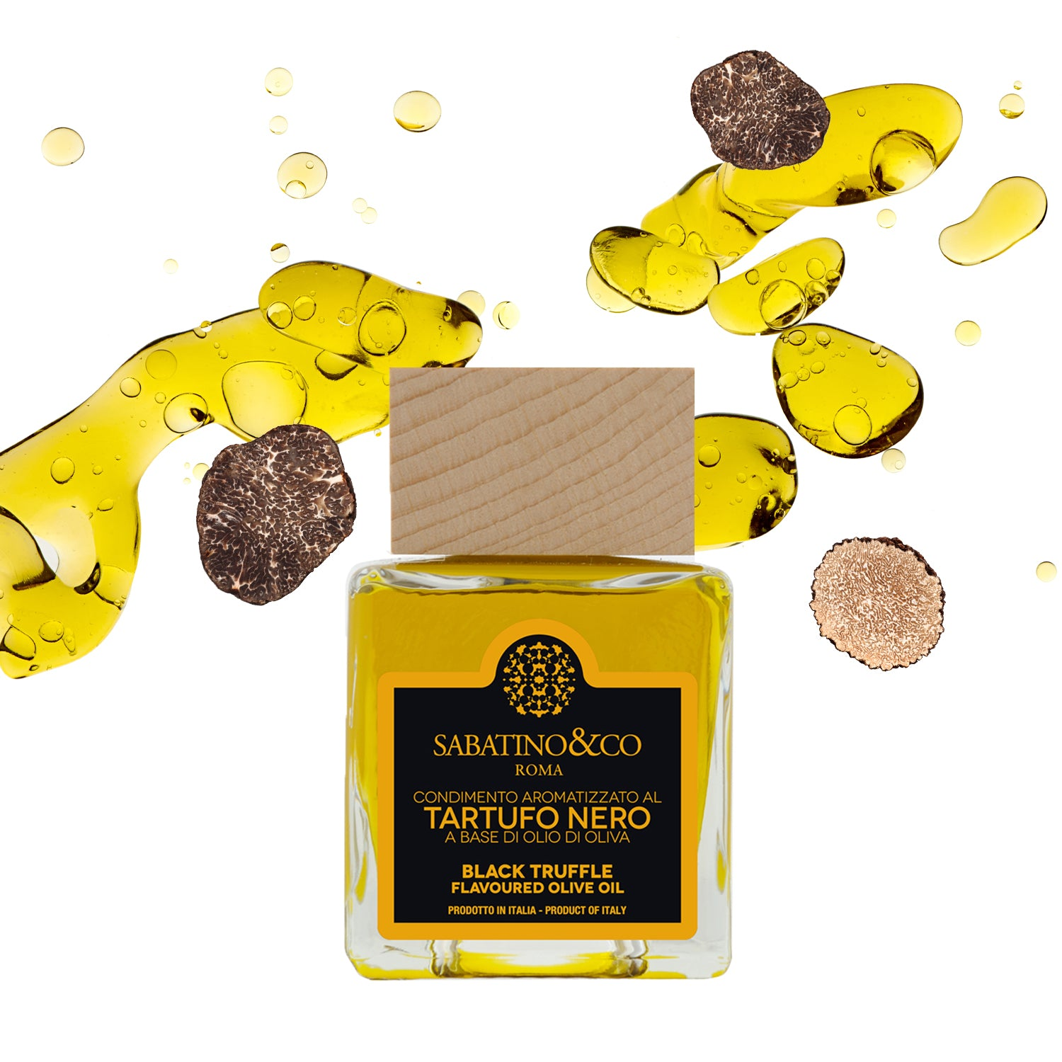 PREMIUM BLACK TRUFFLE INFUSED OIL - 100TH YEAR COLLECTION - Sabatino Truffles