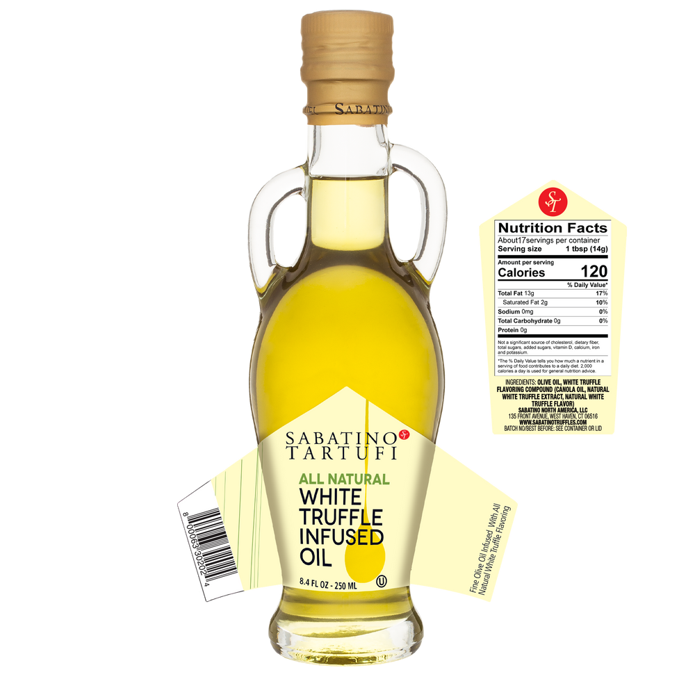 White Truffle Infused Olive Oil- 8.4 fl oz