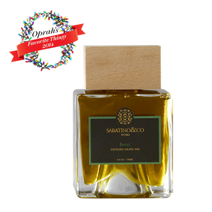 BASIL TRUFFLE INFUSED OIL- OPRAH'S FAVORITE THINGS 2014 - Sabatino Truffles