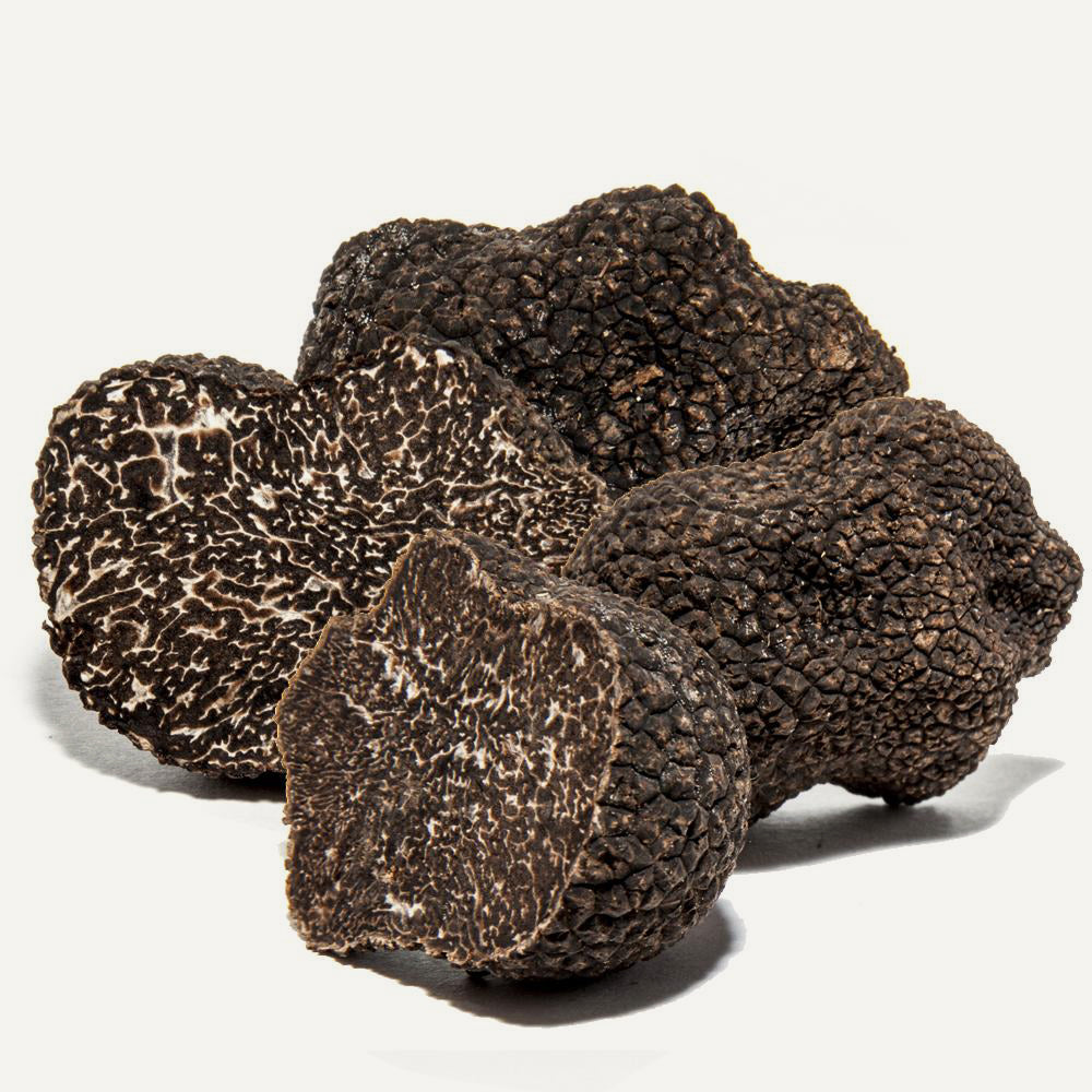 Fresh Black Winter Truffles 8 oz (Tuber Melanosporum) - Sabatino Truffles