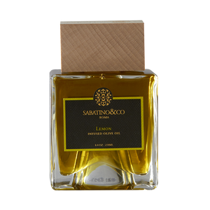 LEMON INFUSED OLIVE OIL- 3.2 fl oz - Sabatino Truffles