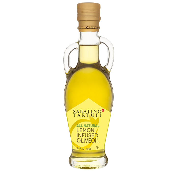 Lemon Infused Olive Oil- 8.4 fl oz - Sabatino Truffles