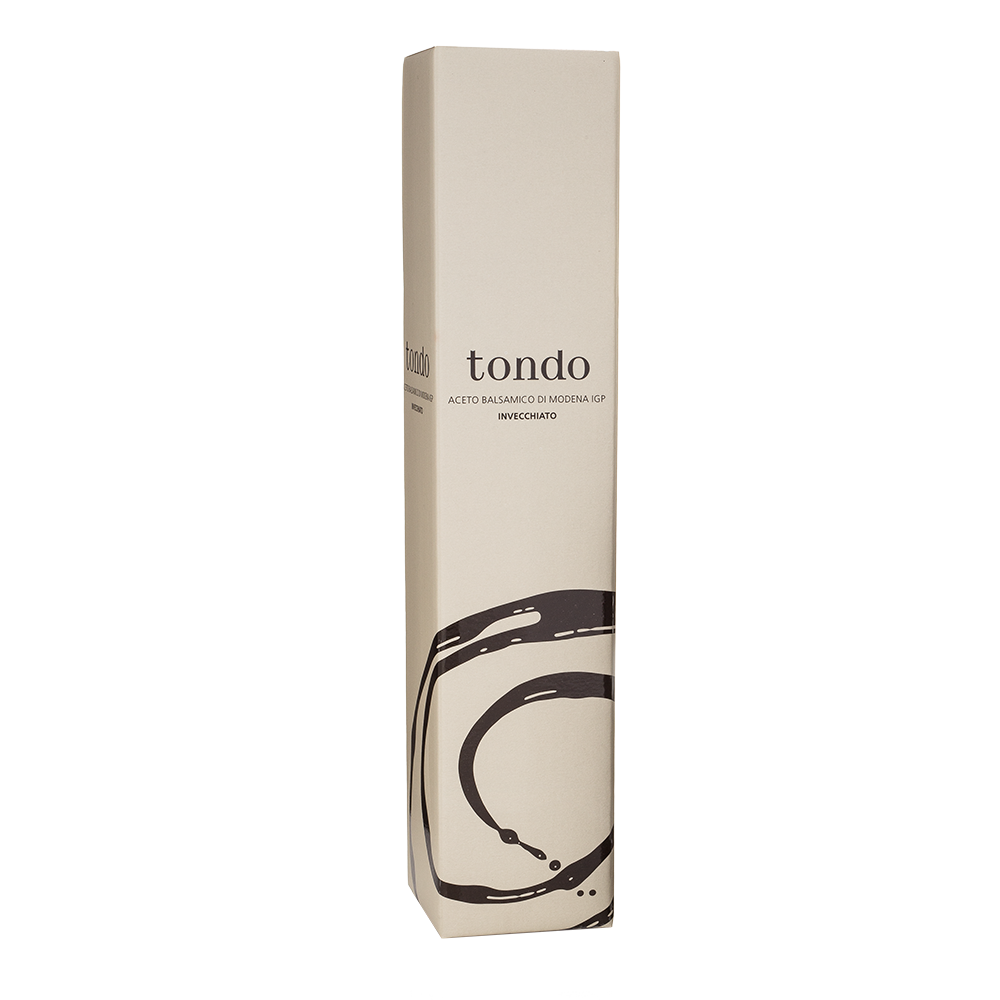 TONDO AGED BALSAMIC VINEGAR OF MODENA- 250 ml - Sabatino Truffles