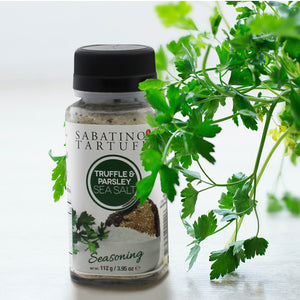Truffle & Parsley Sea Salt - 3.95 oz - Sabatino Truffles