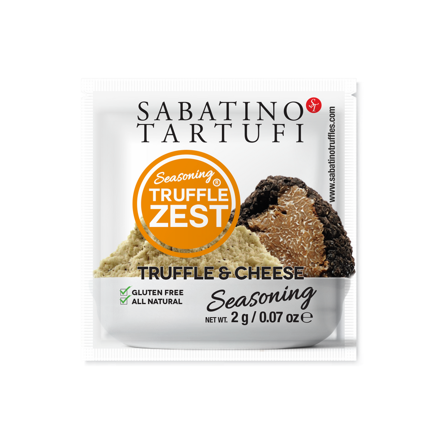 Truffle Zest & Cheese Seasoning- 2g each, 10 packets - Sabatino Truffles