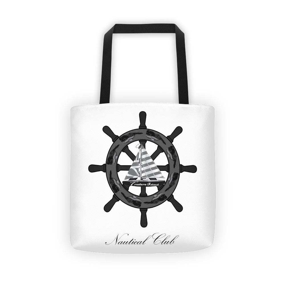 Traders Island Nautical Club Tote Bag