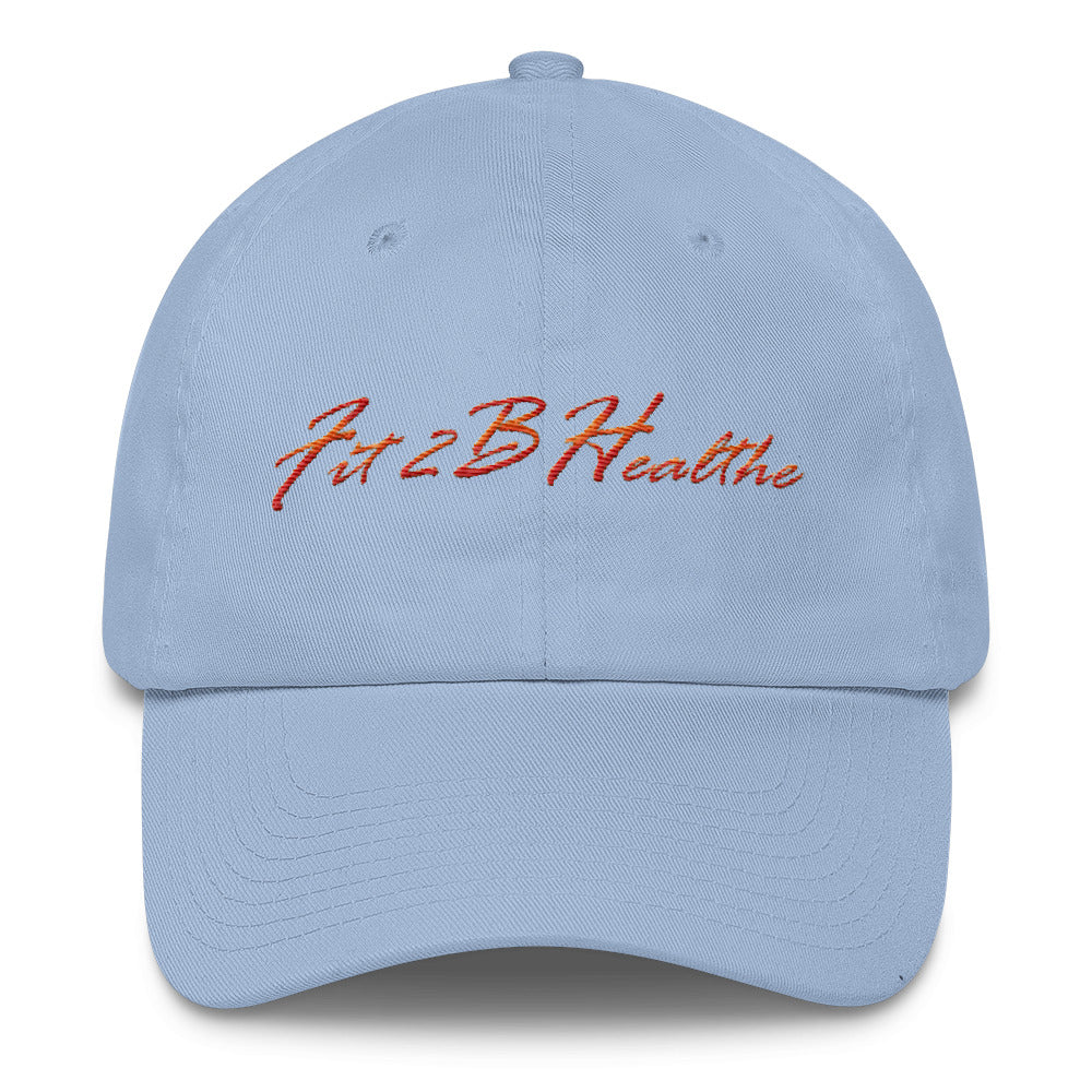 Fit2bHealthe Color Script Cotton Cap