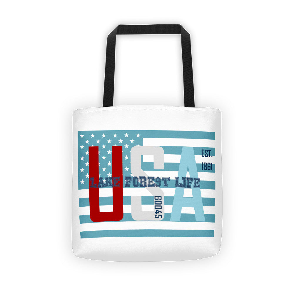 Lake Forest Life Tote bag
