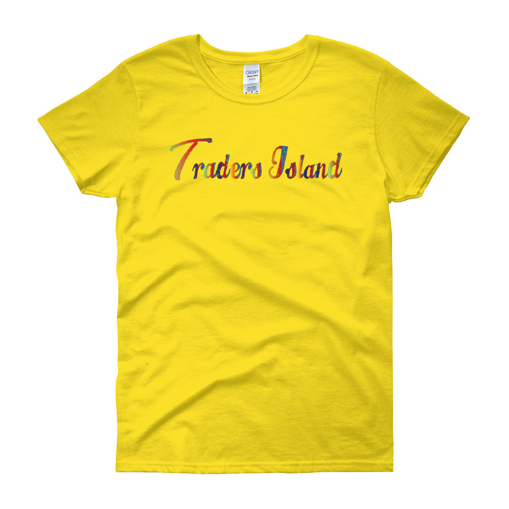 Traders Island Color Script Women's short sleeve t-shirt