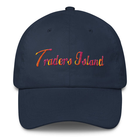 Traders Island Script Unstructured Cap