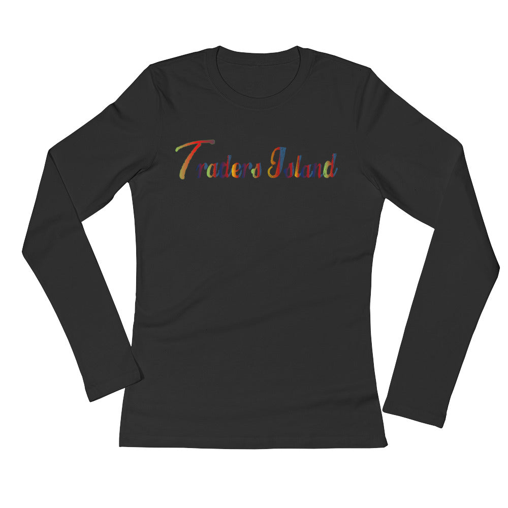 Traders Island Color Script Ladies' Long Sleeve T-Shirt
