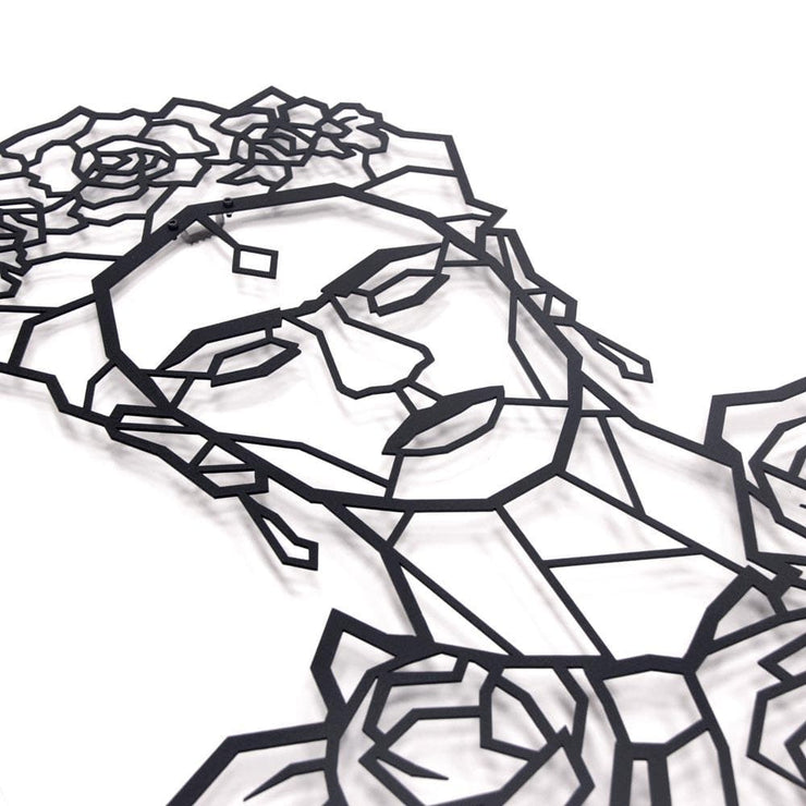 metal wall art, frida kahlo, frida decor, frida art, interior design trends