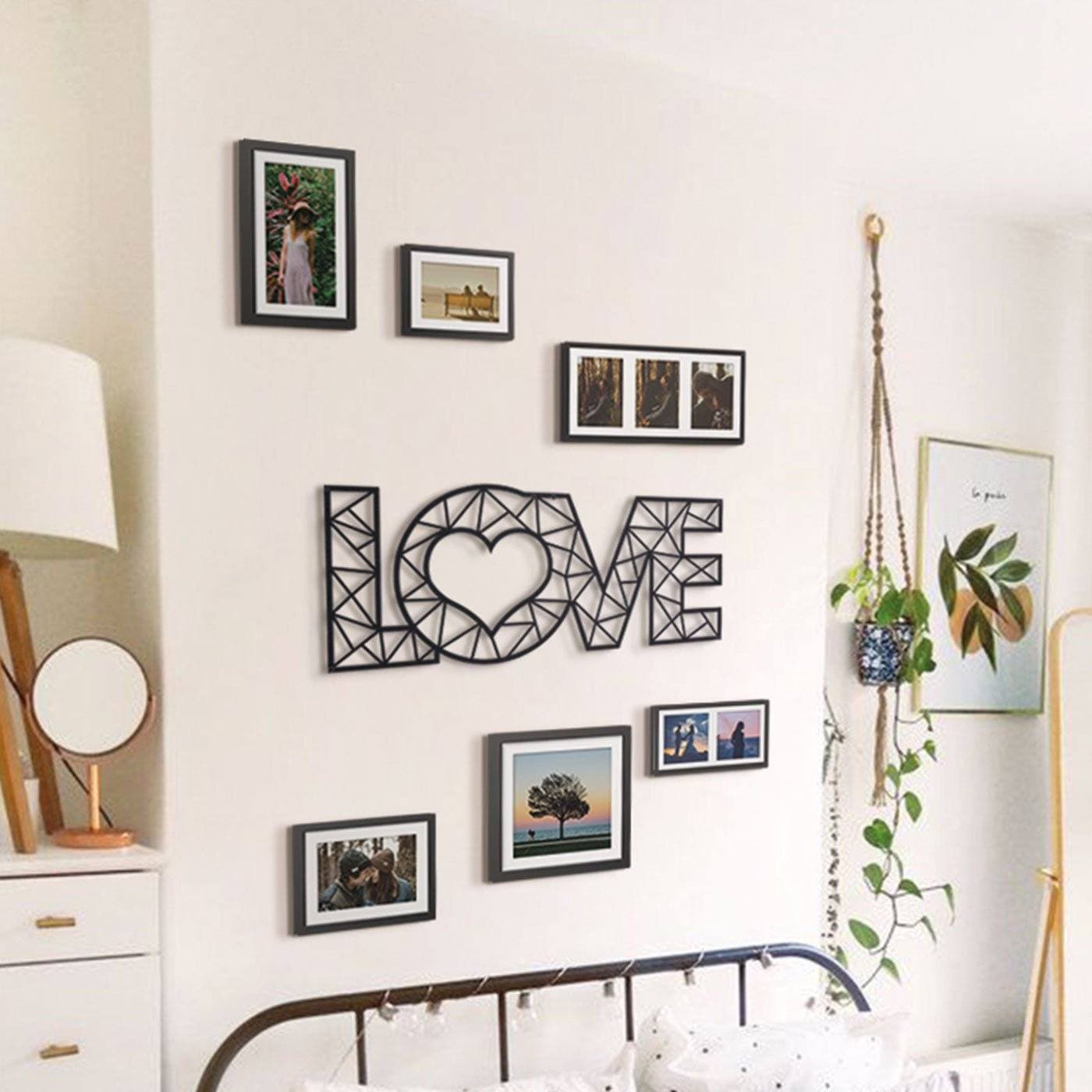 Hoagard Love Metal Wall Art