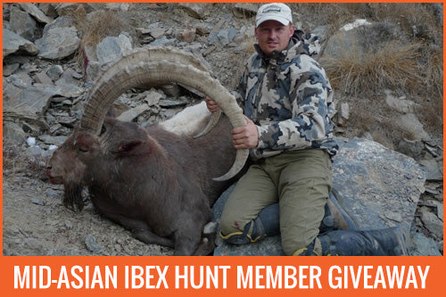 ibex hunt kyrgyzstan free giveaway