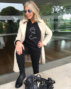 COCO SIGNATURE Black Sweatshirt