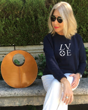 Load image into Gallery viewer, LOVE French Navy Sweatshirt