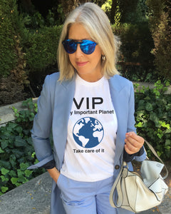 VIP VERY IMPORTANT PLANET White T-Shirt