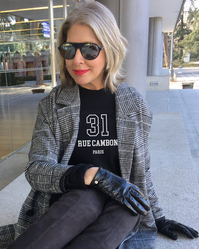 Launch Offer 31 RUE CAMBON Black Sweatshirt