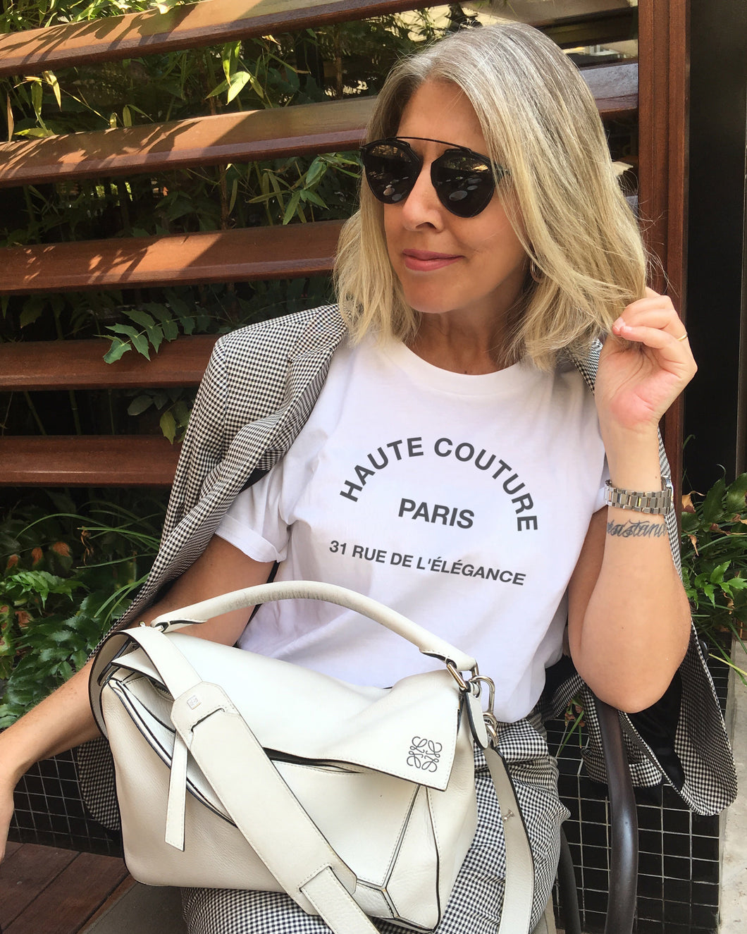 HAUTE COUTURE White T-Shirt