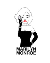 Load image into Gallery viewer, Marilyn with Cellphone