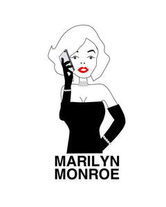 Marilyn with Cellphone