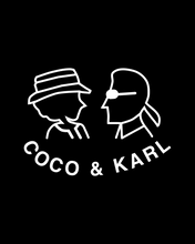 Load image into Gallery viewer, COCO AND KARL Black Hoodie