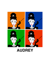 Load image into Gallery viewer, AUDREY HEPBURN INSPIRED BY WARHOL T-Shirt