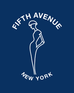 FIFTH AVENUE NEW YORK French Navy Sweatshirt