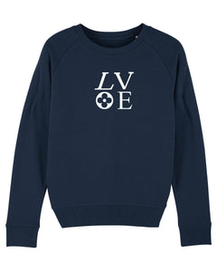 LOVE French Navy Sweatshirt
