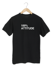 Load image into Gallery viewer, 100% Attitude Black