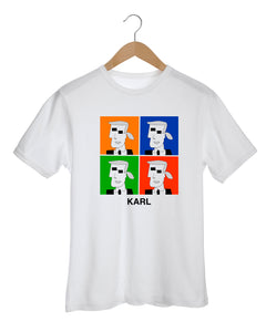 KARL INSPIRED BY WARHOL T-Shirt