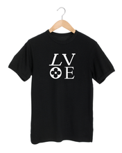 Load image into Gallery viewer, LV LOVE Black T-Shirt