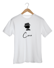 Load image into Gallery viewer, COCO BLACK SILHOUETTE White T-Shirt
