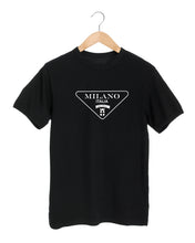 Load image into Gallery viewer, MILANO ITALIA Black T-Shirt