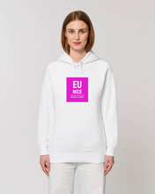 Load image into Gallery viewer, Eu Nice White Hoodie