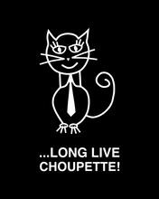 Load image into Gallery viewer, ...Long live Choupette! (Black)