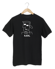 Load image into Gallery viewer, KARL CUBIST Black T-Shirt