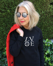 Load image into Gallery viewer, LV LOVE Black Sweatshirt