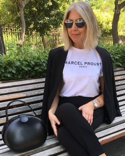 Marcel Proust Paris White T-SHIRT