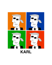 Load image into Gallery viewer, KARL INSPIRED BY WARHOL T-Shirt