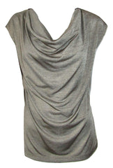 Draped Neck Tops