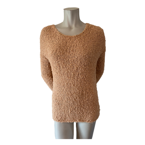 Vince Peach Cotton Blend Sweater Size Medium (10)