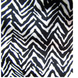 Briggs New York Petite Black and White Zigzag Pattern Wrap Dress Size Large (Petite)