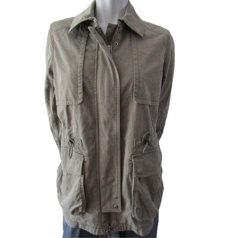 Club Monaco Khaki Cargo Jacket Size Medium (10)