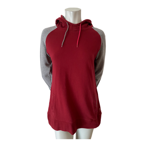 Firefly Burgundy and Grey Hoodie Size Medium (10)