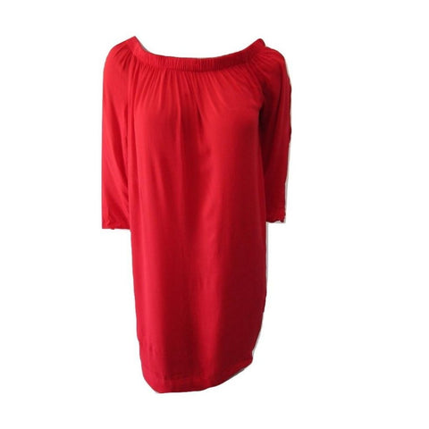 Michael Stars Scarlet Scoop Neck Tunic with Split Sleeves Size Large (12)