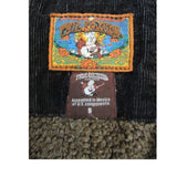 True Religion Black Corduroy Double Breasted Jacket Size Small (6)