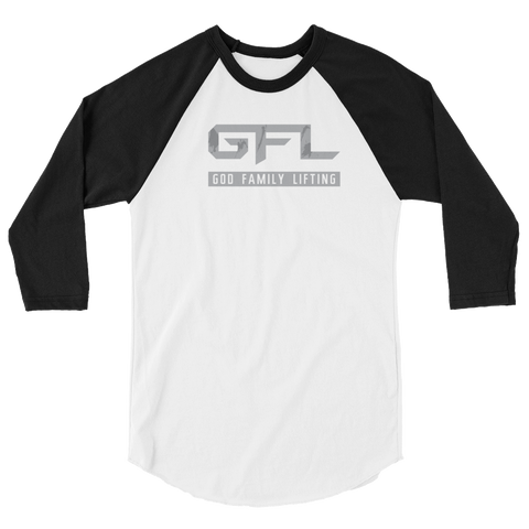 Clean Vintage GFL Women's 3/4 sleeve raglan shirt